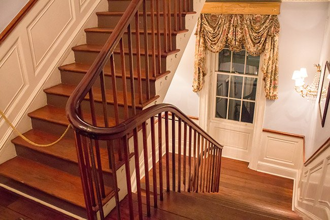 Wiliam Aiken House Staircase Detail