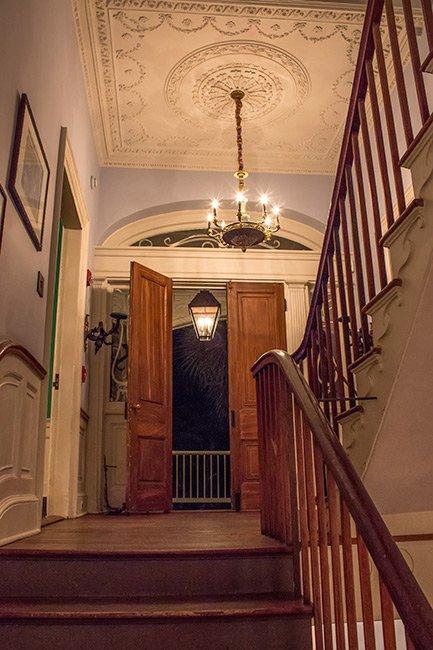 William Aiken House Upstairs Landing