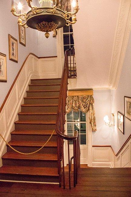 William Aiken House Staircase