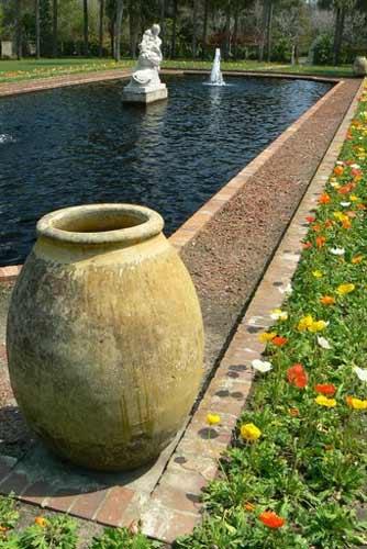 Brookgreen Gardens Pond and Olive Jar