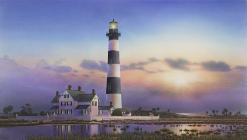 Morris Island Lighthouse South Carolina