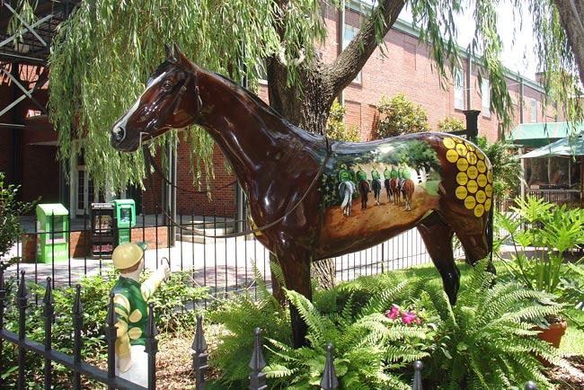 Horse Statue in Aiken SC