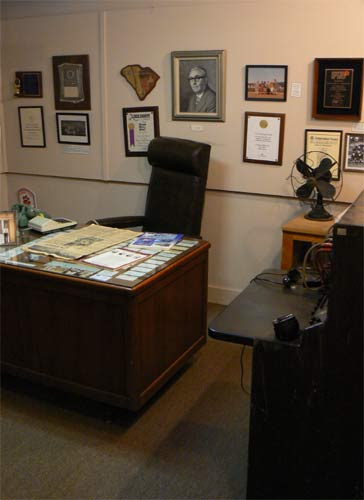 Replica of Mayor Odell Weeks' Office