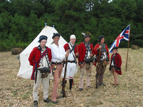 Revolutionary War Reenactment In Spartanburg South Carolina