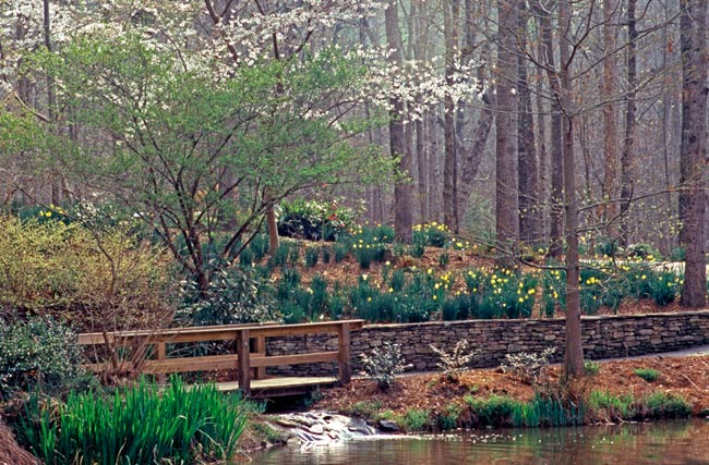 The Clemson Botanical Garden Property Comprises 295 Acres And Is Accessible Daily Free Of Charge From Dawn To Dusk Trails Paths Provide