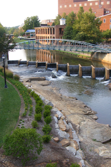 Reedy river greenville sc photos map history for Architects greenville sc