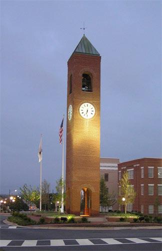 Spartanburg Town Clock – Spartanburg, South Carolina