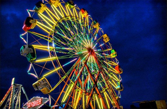 Upstate Fair Ferris Wheel
