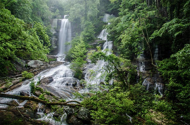 3 Waterfalls at Twin Falls