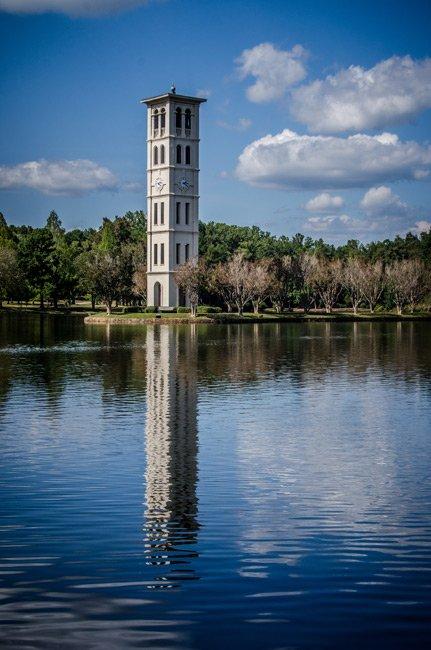 Furman Bell Tower Portrait