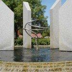 Peace Center Fountain