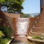 Peace Center Waterfall