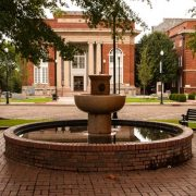 Abbeville Court Square Fountain
