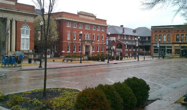 Abbeville Courthouse Square