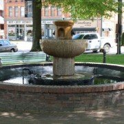 Abbeville Fountain