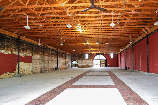 Abbeville Livery Stable Interior