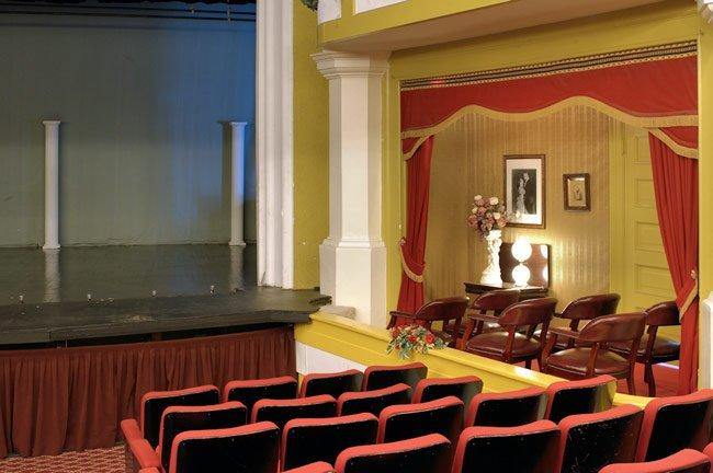Abbeville Opera House Inside