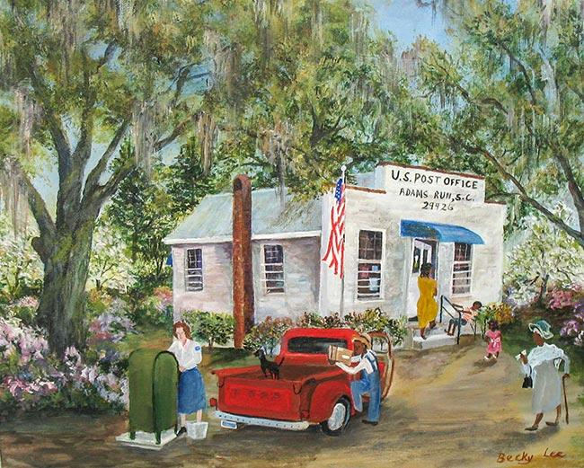 Adams Run Post Office