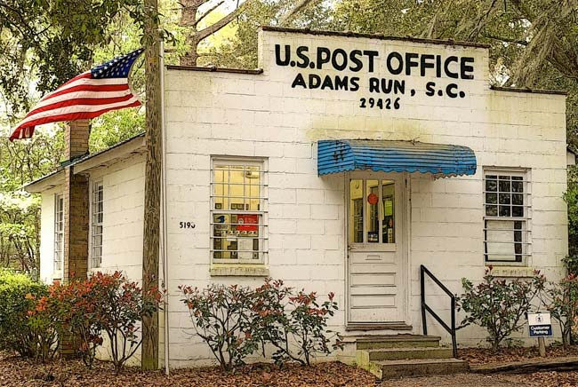 Adams Run Post Office