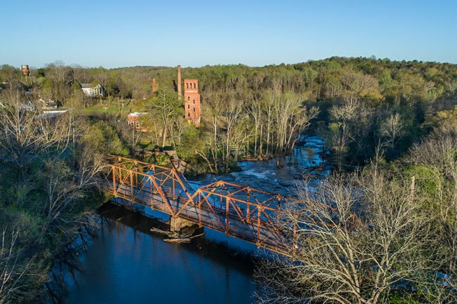 Glendale Mill Aerial View