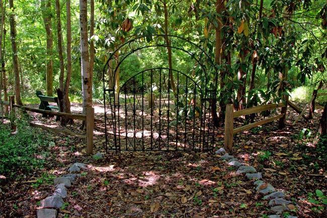 African American Cemetery Gate Mepkin