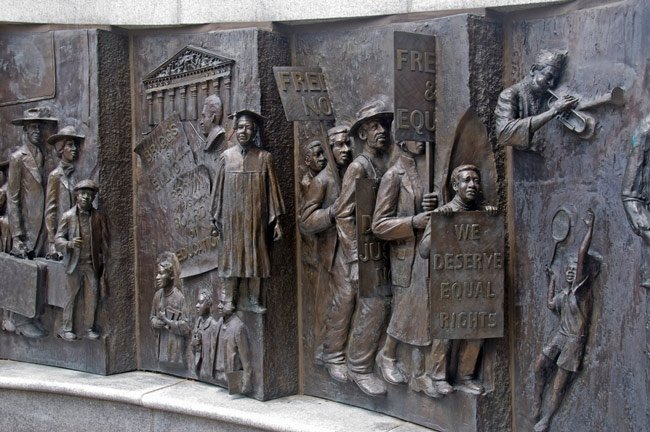 African American Monument Columbia