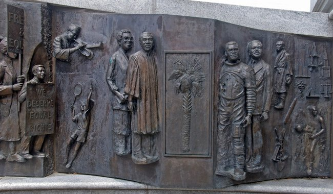 African American Monument Detail