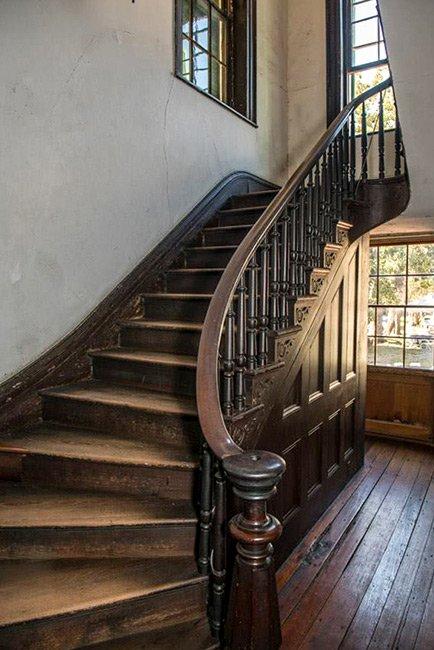 Aiken-Rhett House Back Stairs