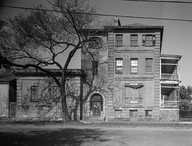 Aiken-Rhett House, Side View