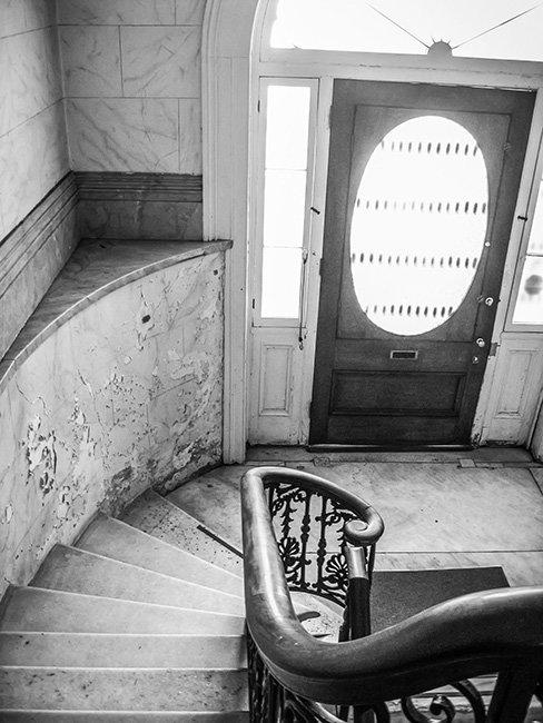 Aiken Rhett House Main Stairway
