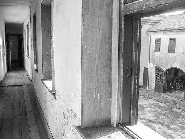 Interior Hall of Aiken-Rhett House Slave Dwelling