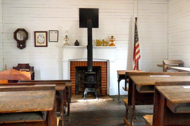 Aiken Schoolhouse Interior