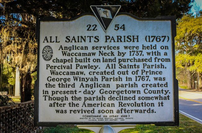 All Saints Marker