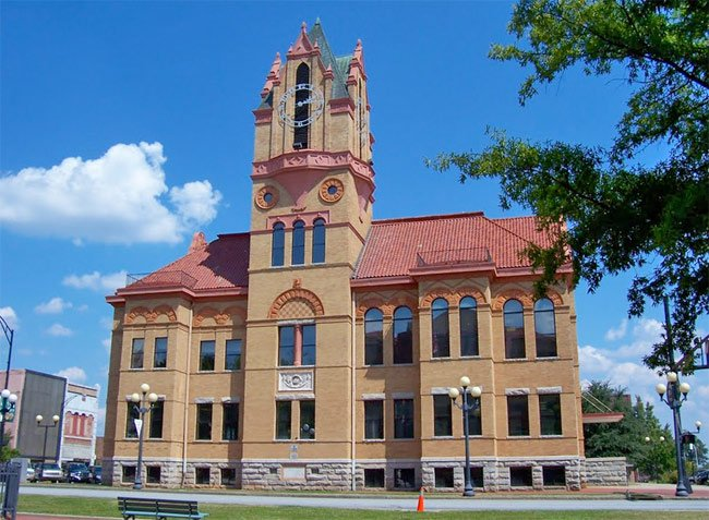Anderson County - Old Courthouse