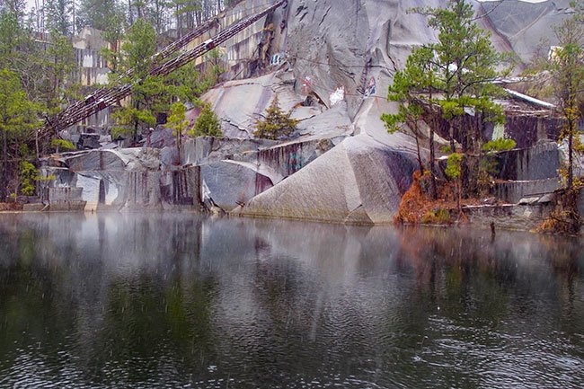 Kincaid-Anderson Quarry - Jenkinsville, South Carolina