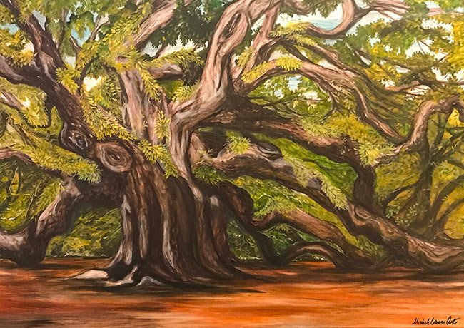Angel Oak Painting, Johns Island