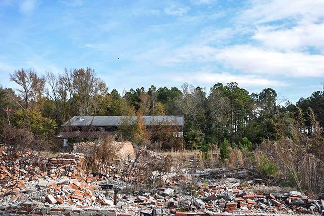 Angelus School Ruins