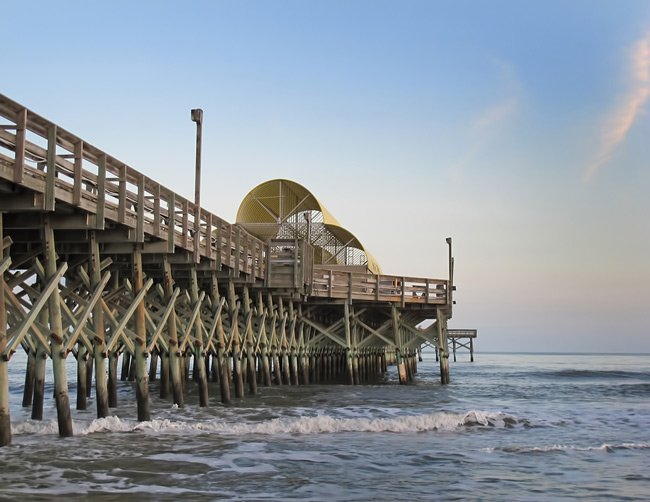 Apache pier myrtle beach south carolina sc for North myrtle beach fishing pier