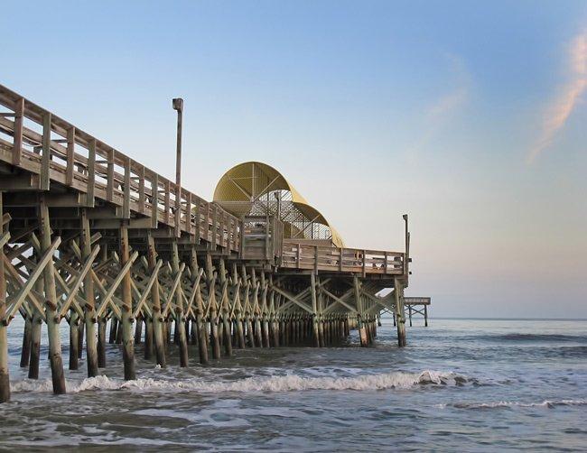 Apache pier myrtle beach south carolina sc for Fishing piers in myrtle beach