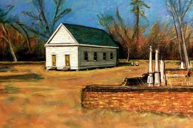 Appleby Church Painting