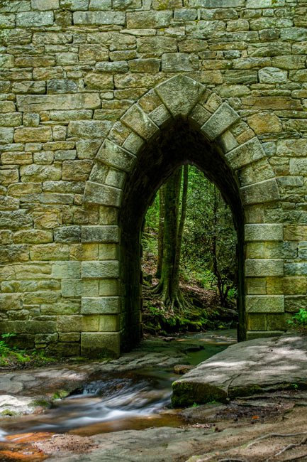 Arch of the Poinsett Bridge