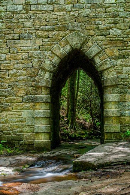 Arch of the Poinsett Bridge