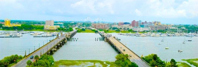 Ashley River Draw Bridges