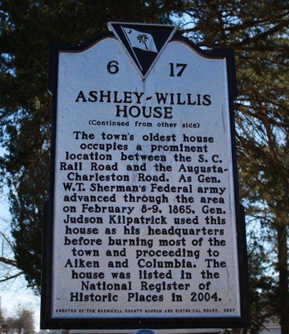Ashley Willis Marker