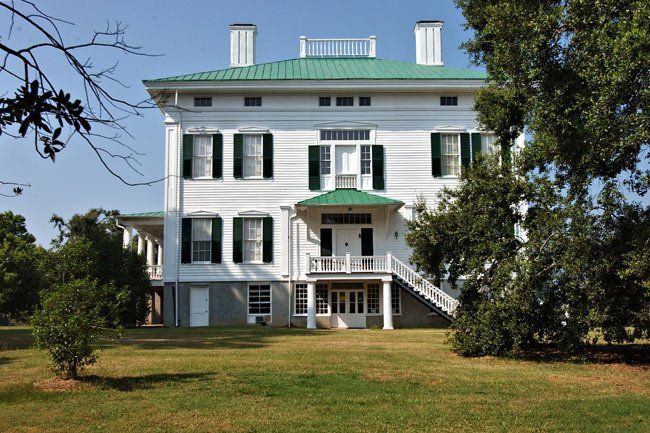 Back of Redcliffe Plantation
