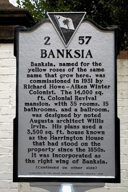 Banksia Marker