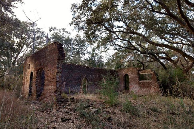 Friendfield Plantation Rice Mill Ruin