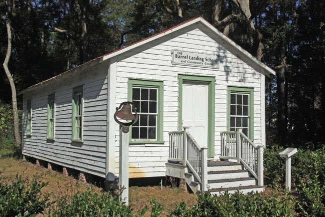 Barrel Landing School House
