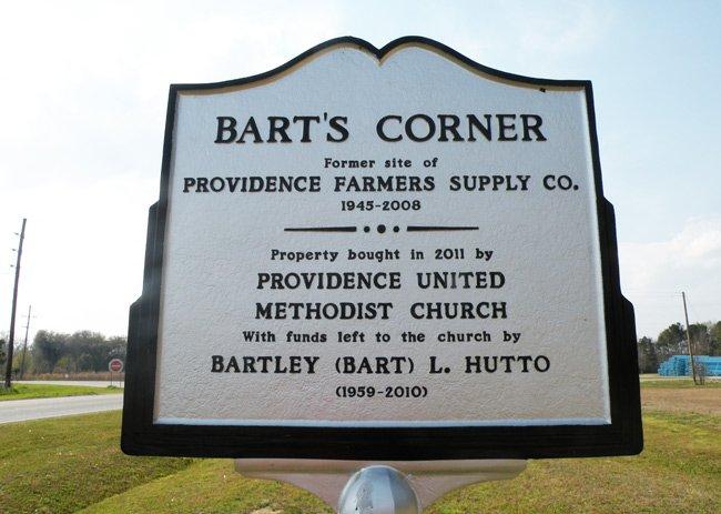 Bart's Corner Marker