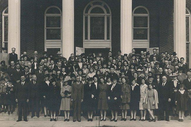 Easley First Baptist Church Congregation